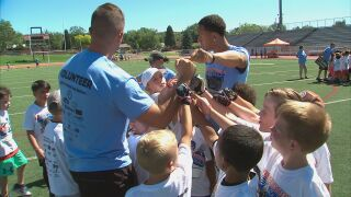 Annual Pro Football Camp continues for 15th year despite COVID-19