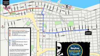Buc Days Navy Army Night Parade live-streams tonight on our sister station
