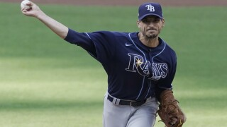 Rays turn to Charlie Morton to try to take series lead against Dodgers