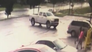 Video surveillance of kidnapping in Tulsa