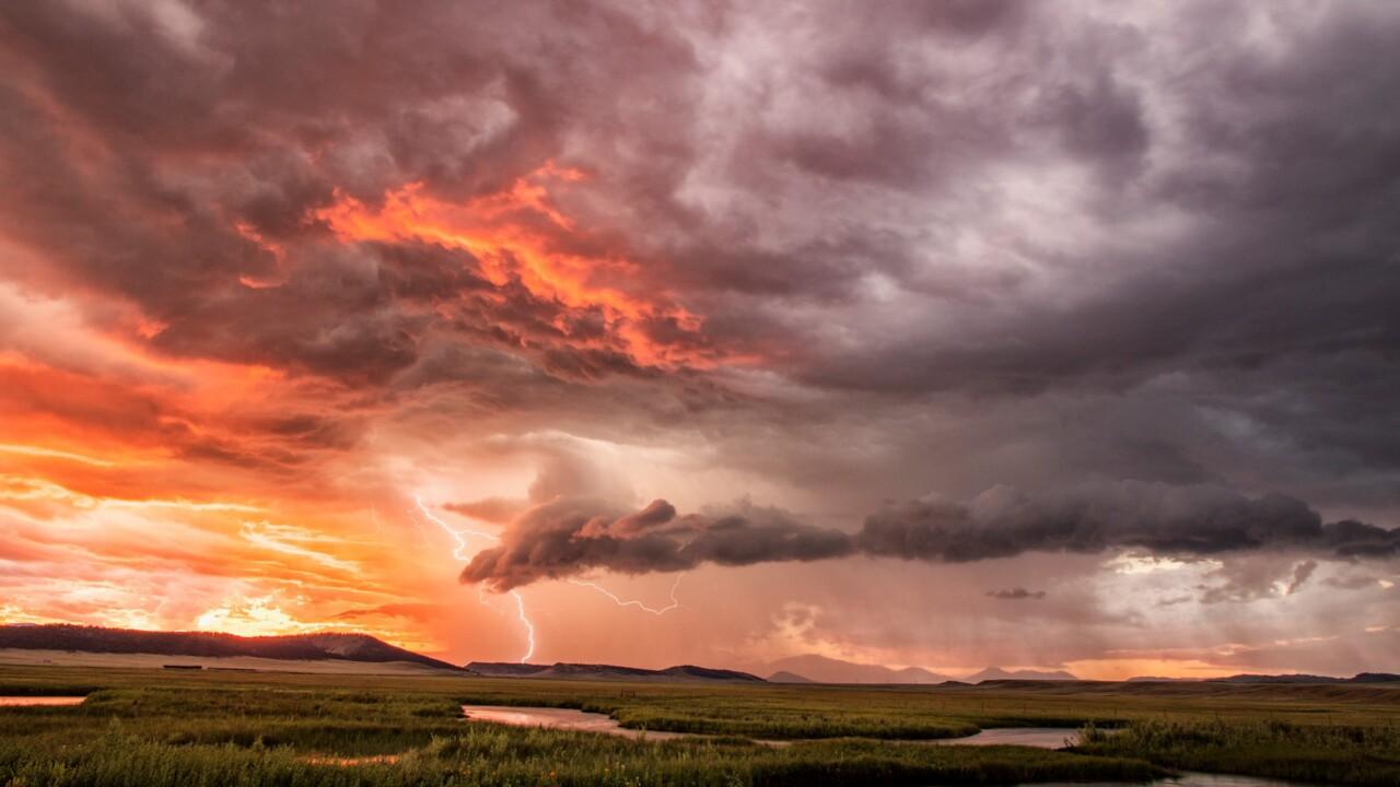 Lightning Storm near Hartsel
