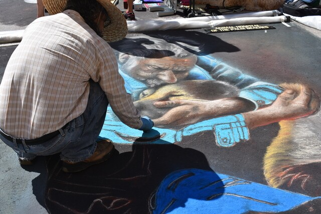 Photos from the Lake Worth Street Painting Festival