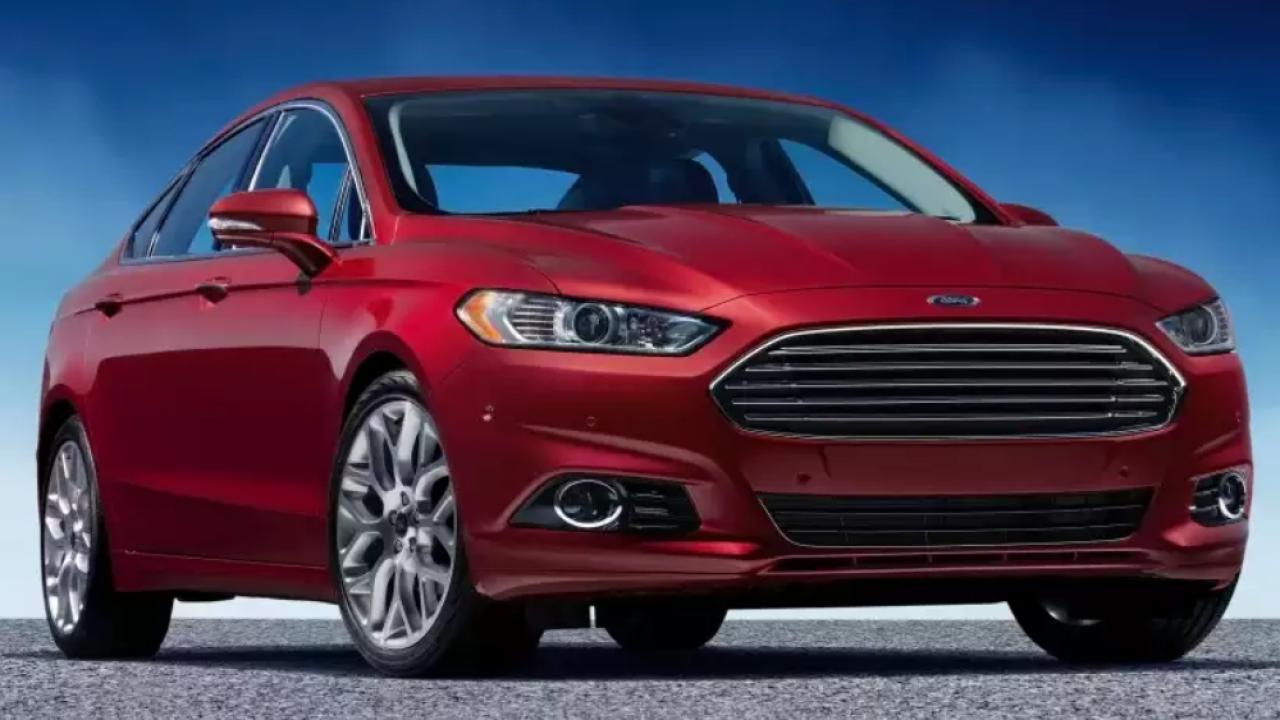 2016 Ford Fusion Sedan