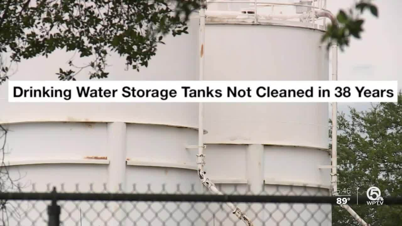 Drinking Water Storage Tanks Not Cleaned in 38 Years