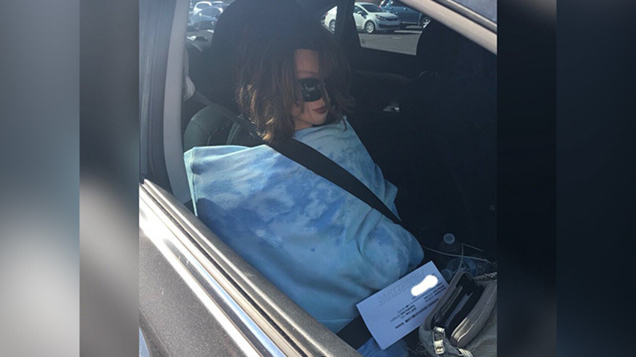 Driver in carpool lane in Phoenix spotted with fake passenger