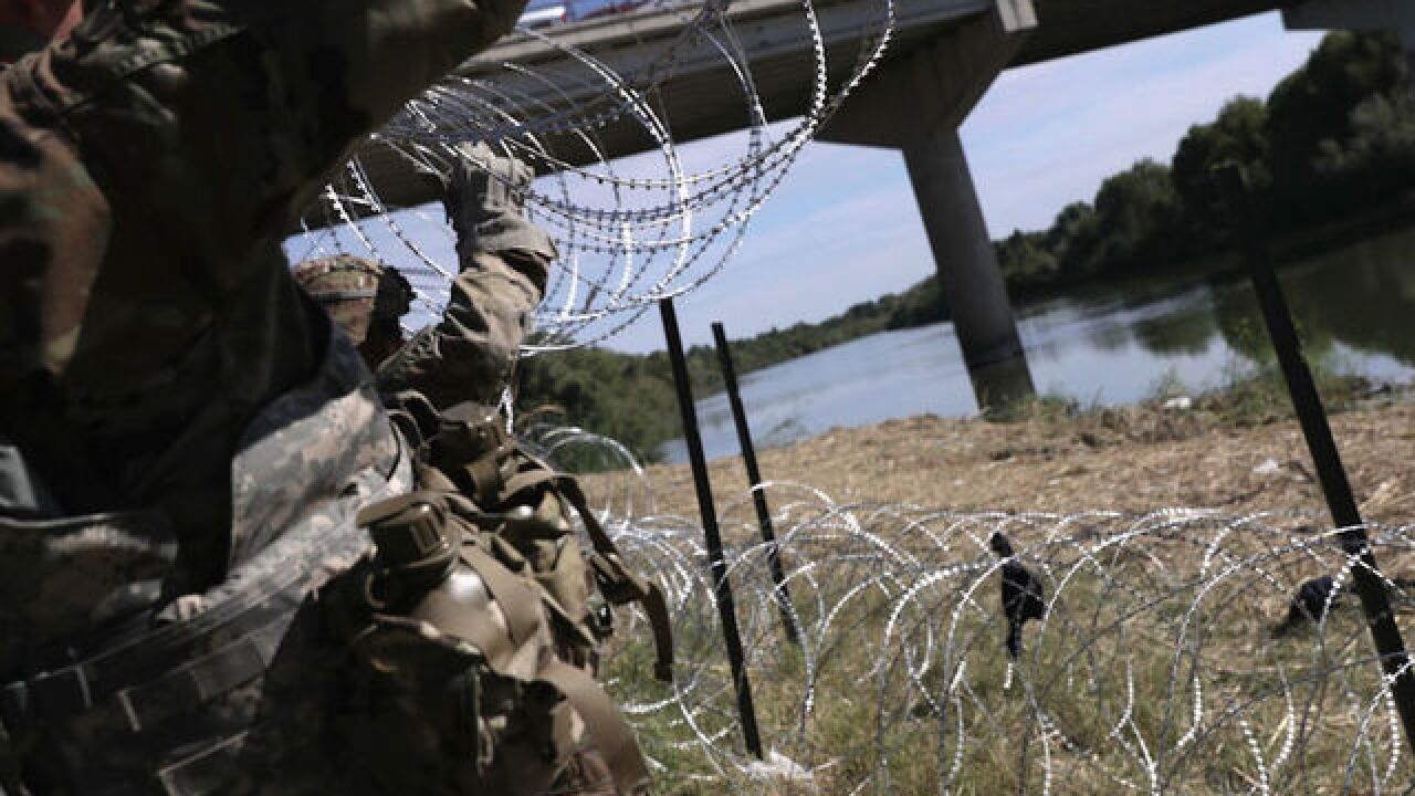 Pentagon rejected request for troops to act as emergency law enforcement at border