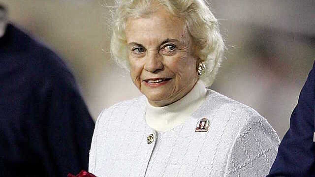 Sandra Day O'Connor in early stages of dementia