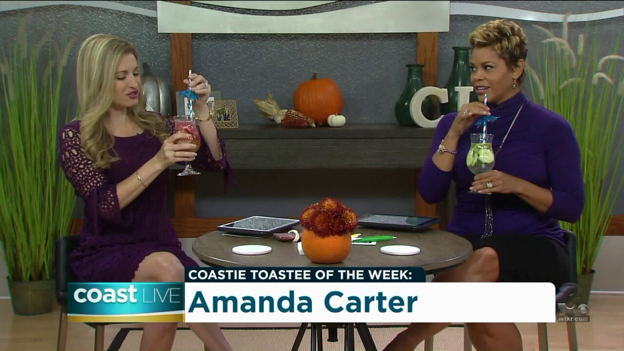 Toasting Tuesday with Glow Water on CoastLive