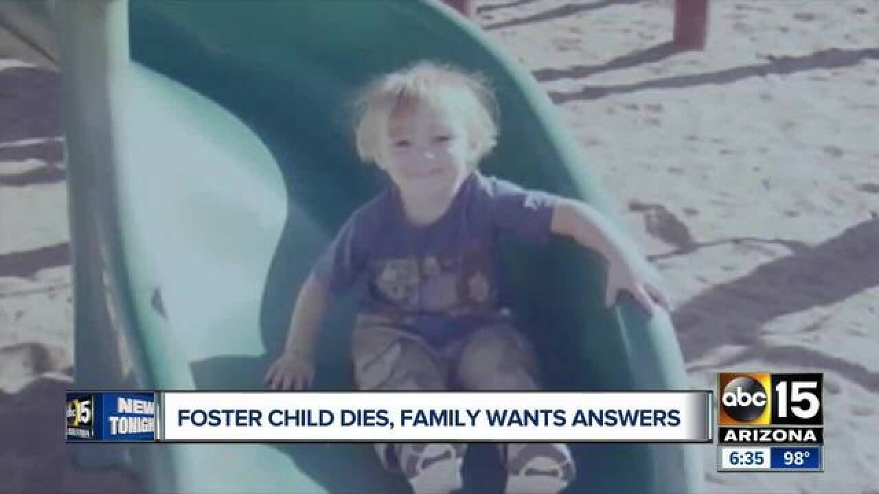 Grandmother wants justice for Phoenix foster boy
