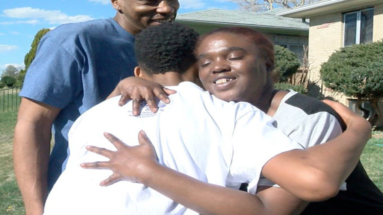 Father/son meet family they saved from home fire