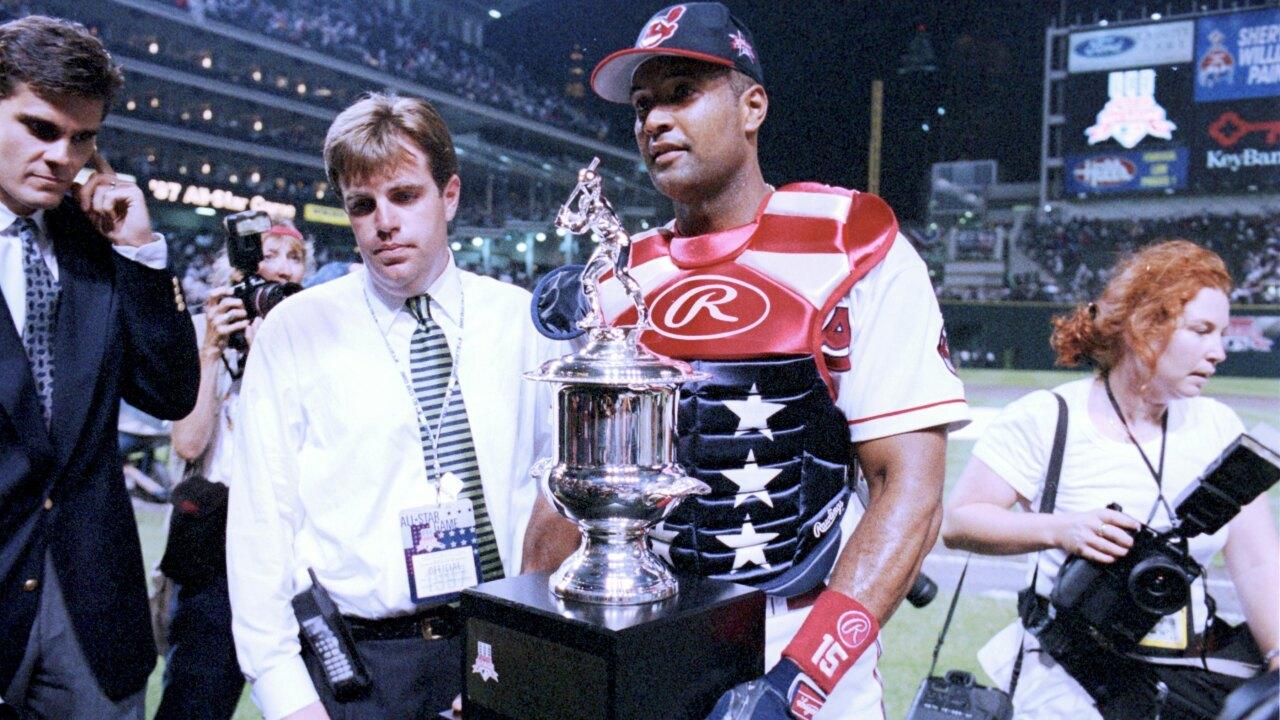 1997 MLB All-Star Game Sandy Alomar Jr.