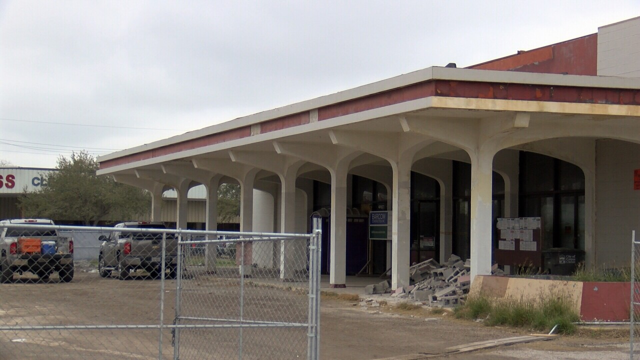 Theater conversion into school nearing completion