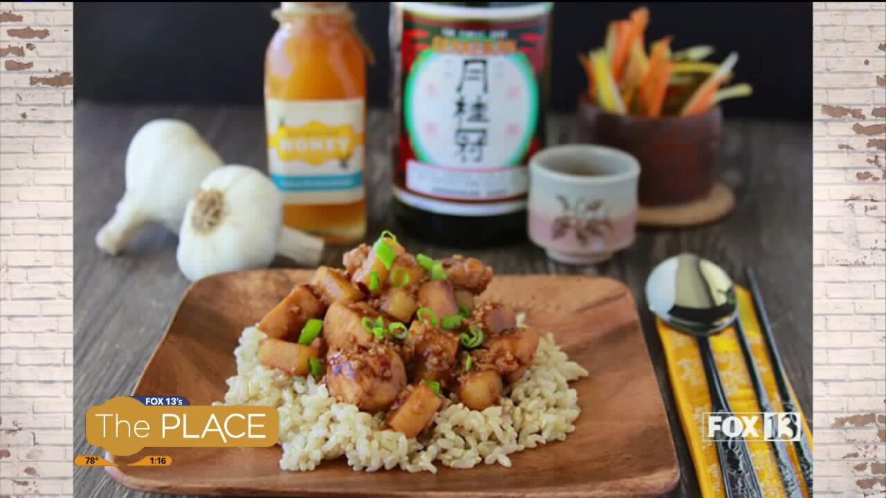 Recipe: Chinese Honey GarlicChicken