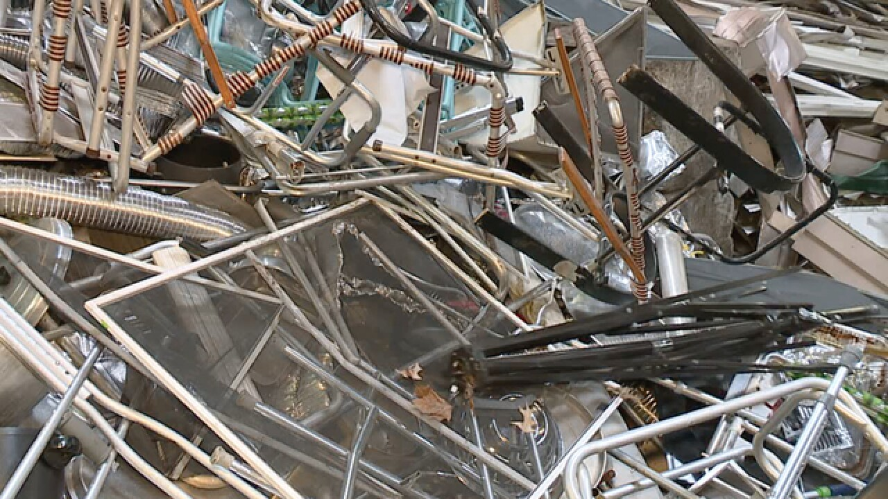 CLE scrap thieves hit businesses for 500K