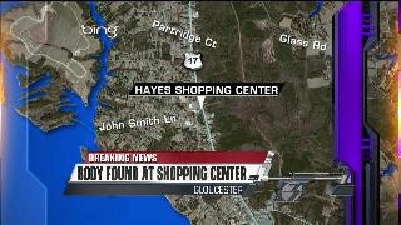 Body found in Gloucester shopping center