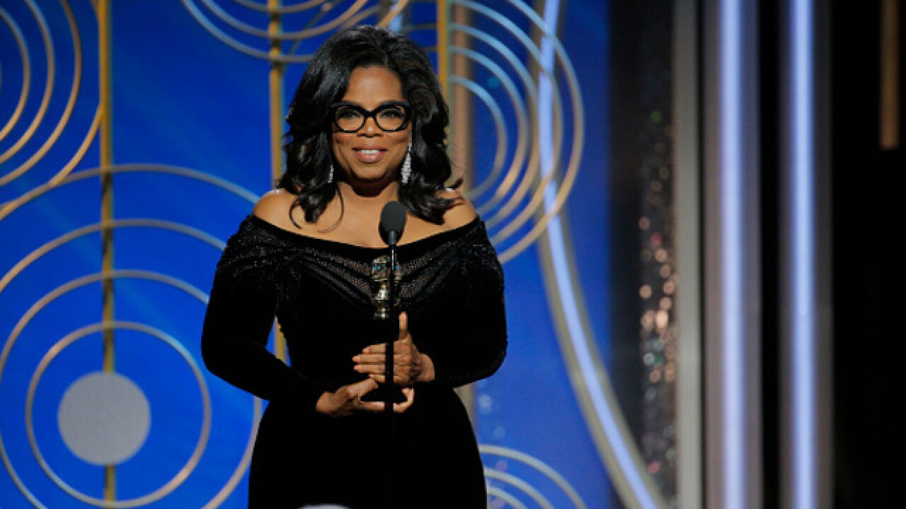 New Rasmussen Reports poll: Oprah Winfrey would beat Donald Trump in 2020 election