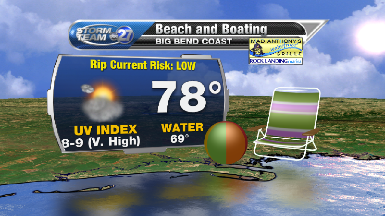 Beach and Boating forecast B (04/12/2017)