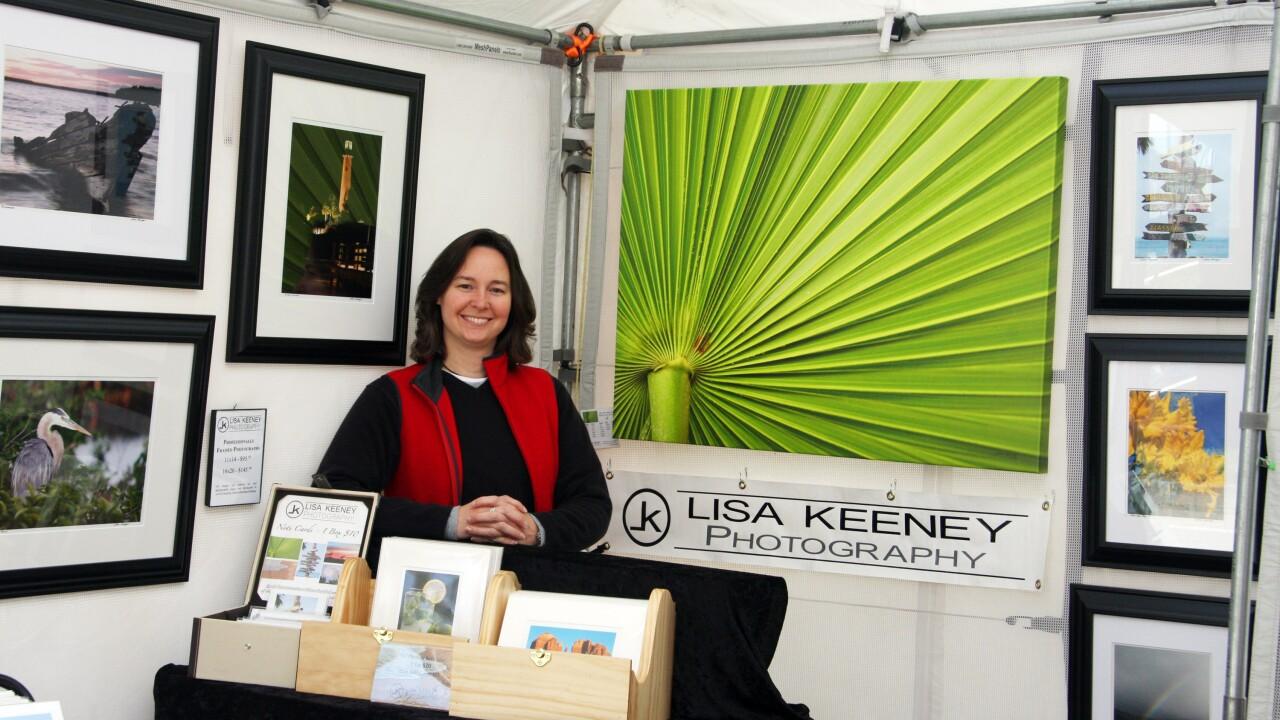 Artist Lisa Keeney