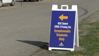 Montana State University offering additional, free covid testing for symptomatic students