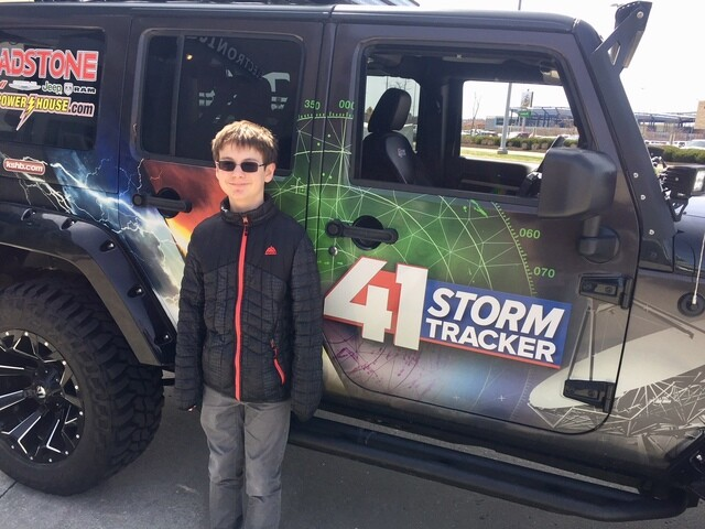 PHOTOS: 41 Action News weather team at Nebraska Furniture Mart