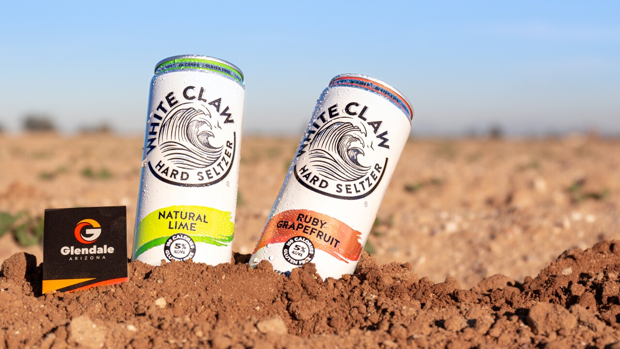 'White Claw' distribution center to be built in Glendale