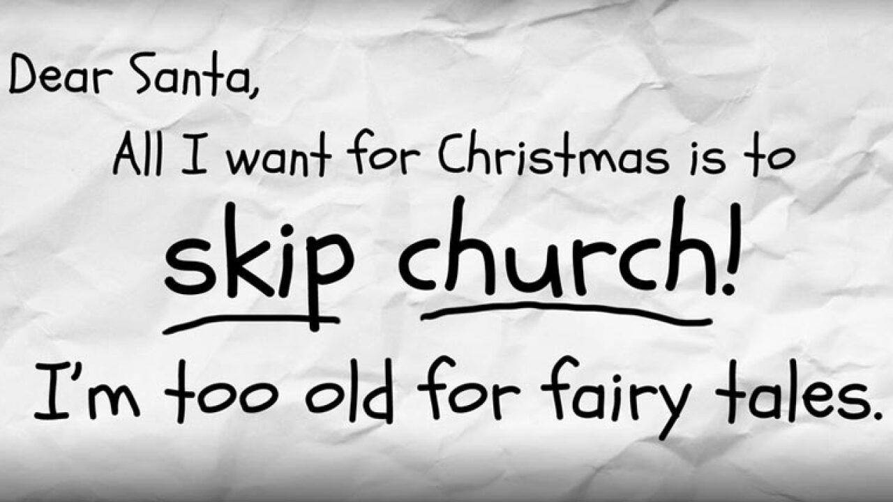 "Atheists put up ""Skip Church For Christmas"" billboard In Arkansas"