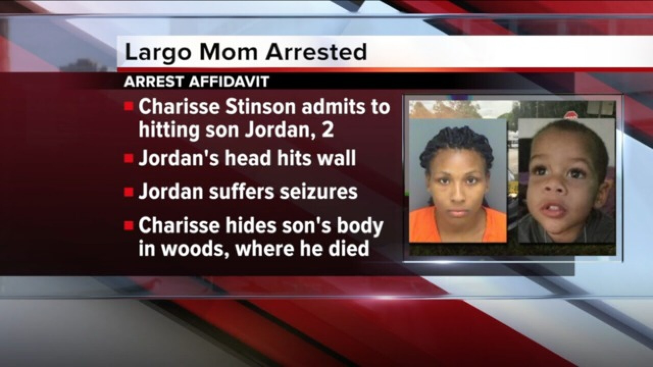 Mother of missing 2-year-old charged with murder