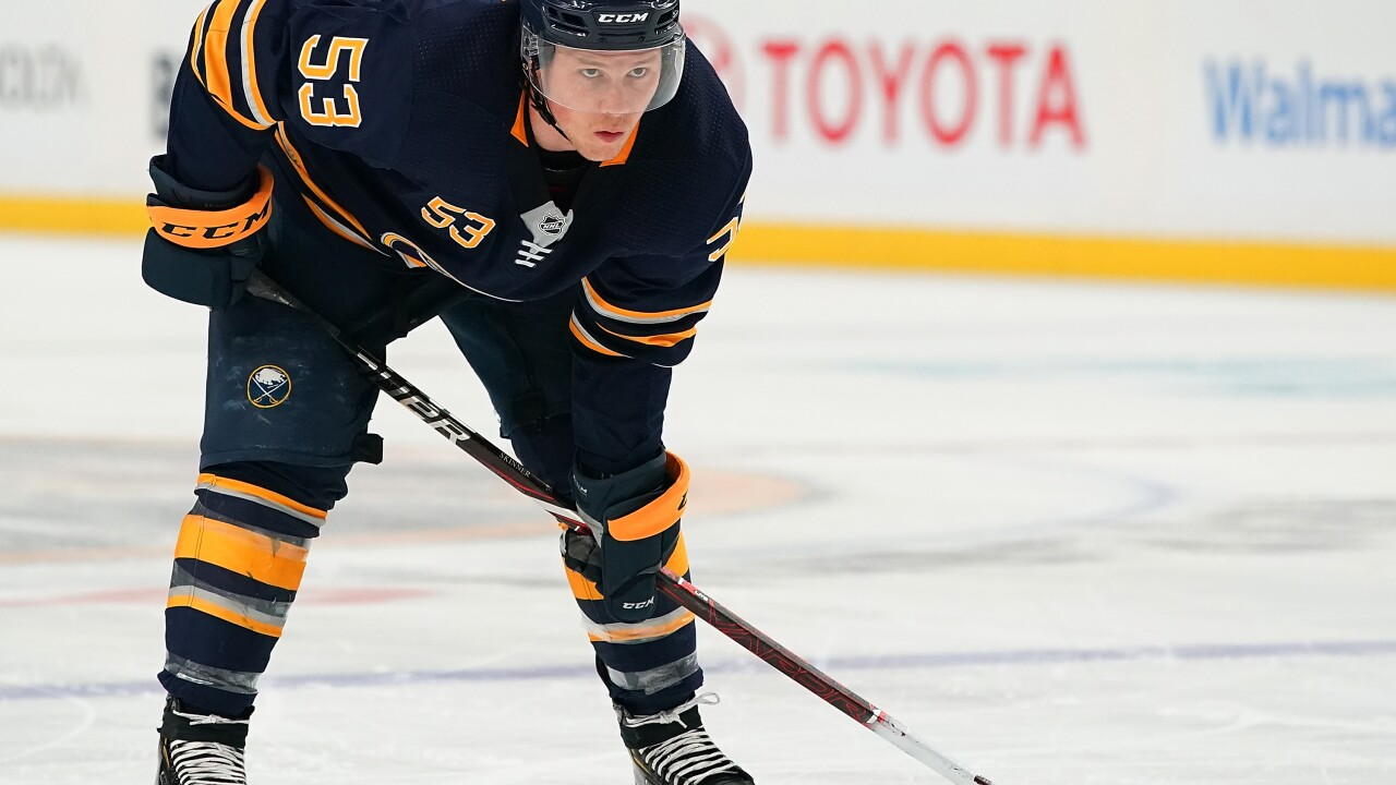 Jeff Skinner scores twice in Sabres 6-2 loss to Rangers