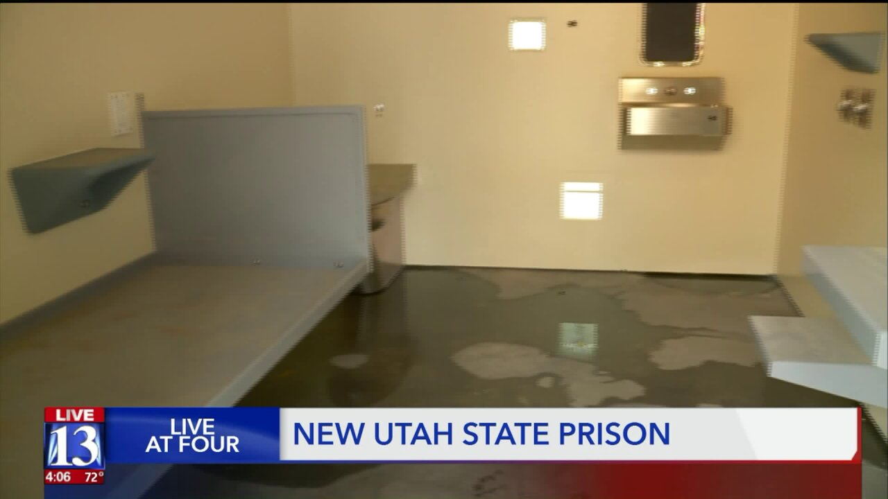 Buildings are starting to go up at the new Utah State Prison site