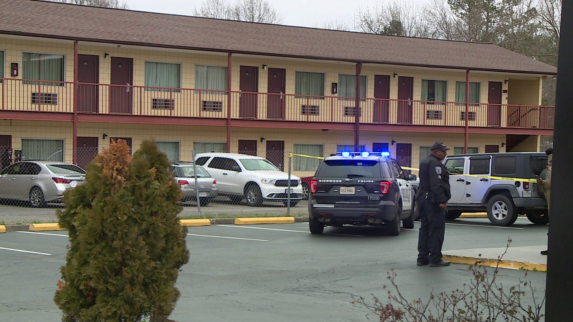 Photos: Man killed in Southside motel shooting