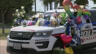 Memorial for two fallen McAllen Texas officers