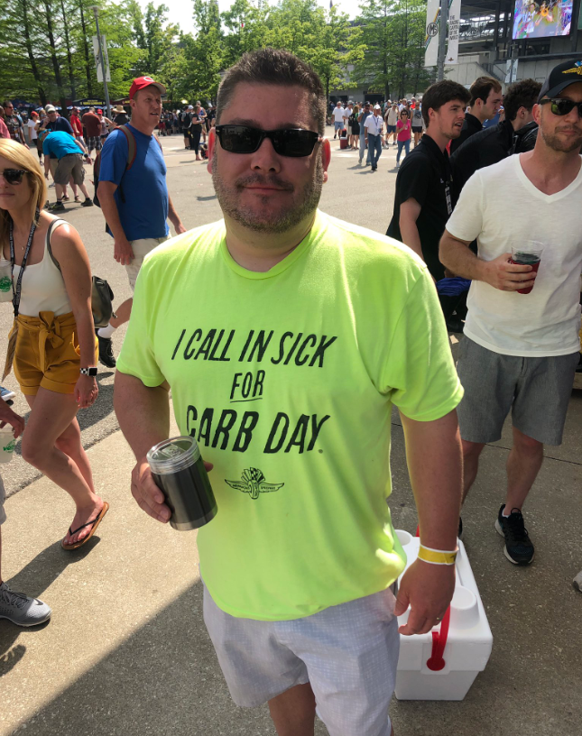 I call in sick for carb day.PNG
