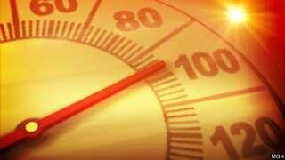 hot temperatures