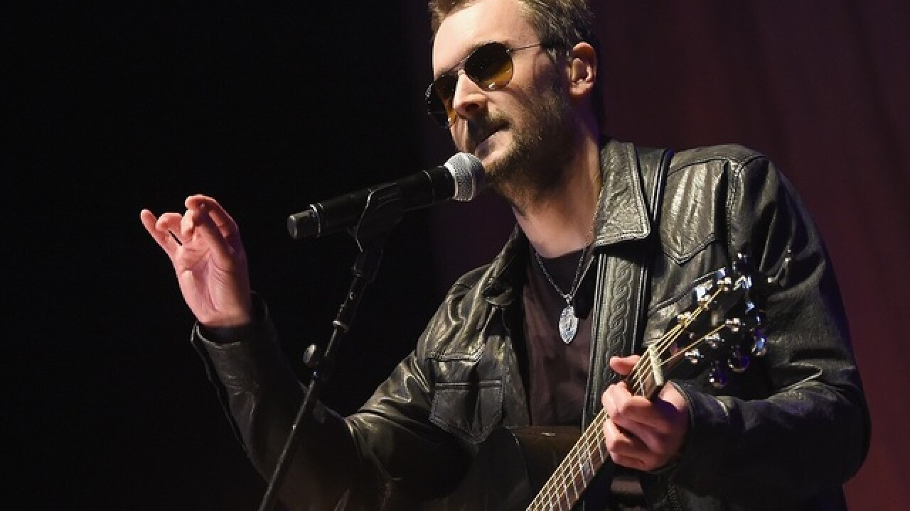 Eric Church pays tribute to Bowie, Glenn Frey at ACM Awards