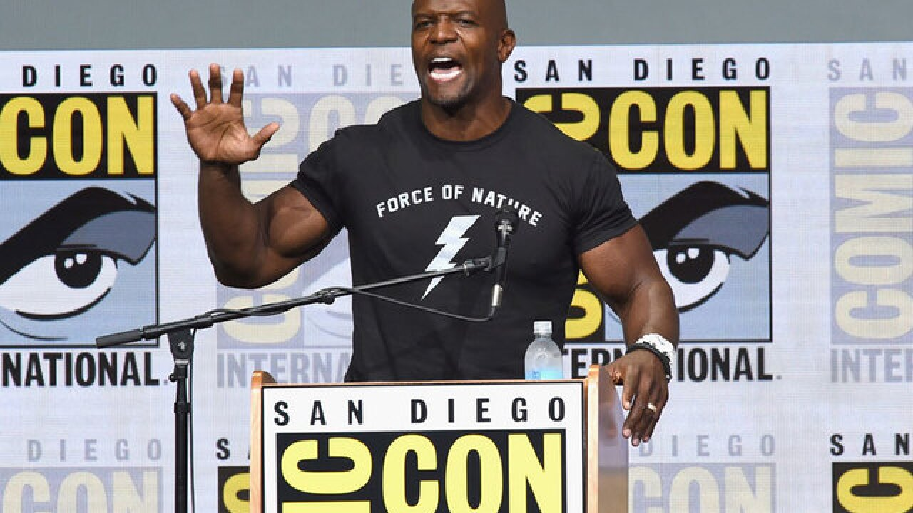 Terry Crews: 'Expendables' producer threatened 'trouble' over sex assault lawsuit