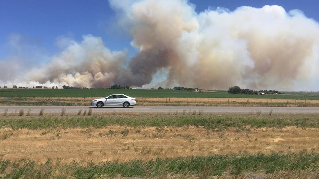 3,000+ acre wildfire burning north of Wendell