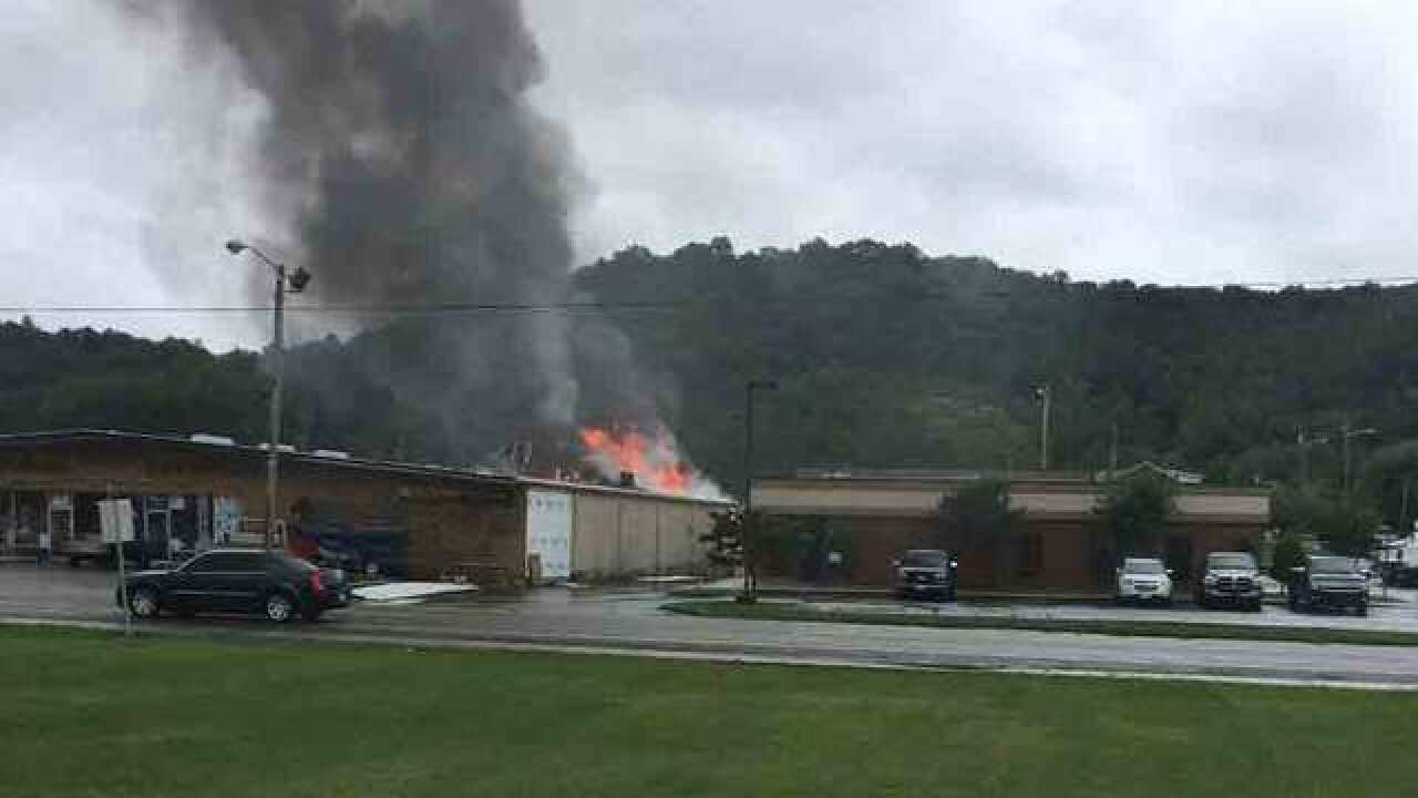 Crews Respond To Fire At Hardware Store
