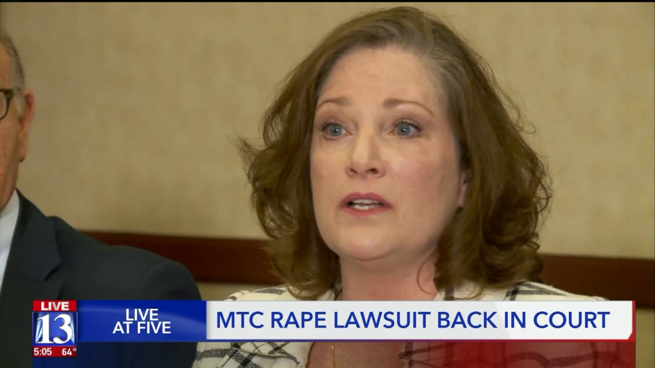 Judge wants identity of second accuser in lawsuit alleging rape at the LDS Church's Missionary TrainingCenter