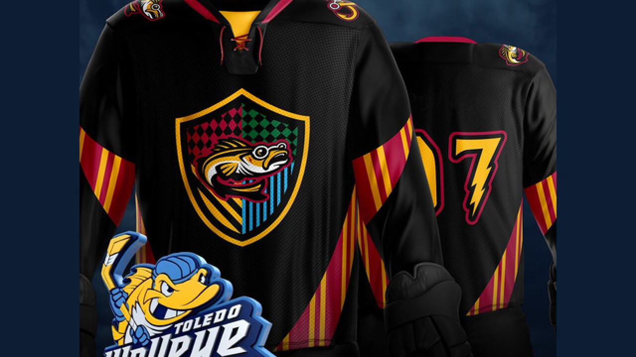 09e57d15f Toledo Walleye unveil awesome Harry Potter-theme jerseys