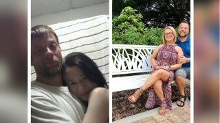 Clean Challenge: Couple celebrates sobriety with before and after photos of meth addiction