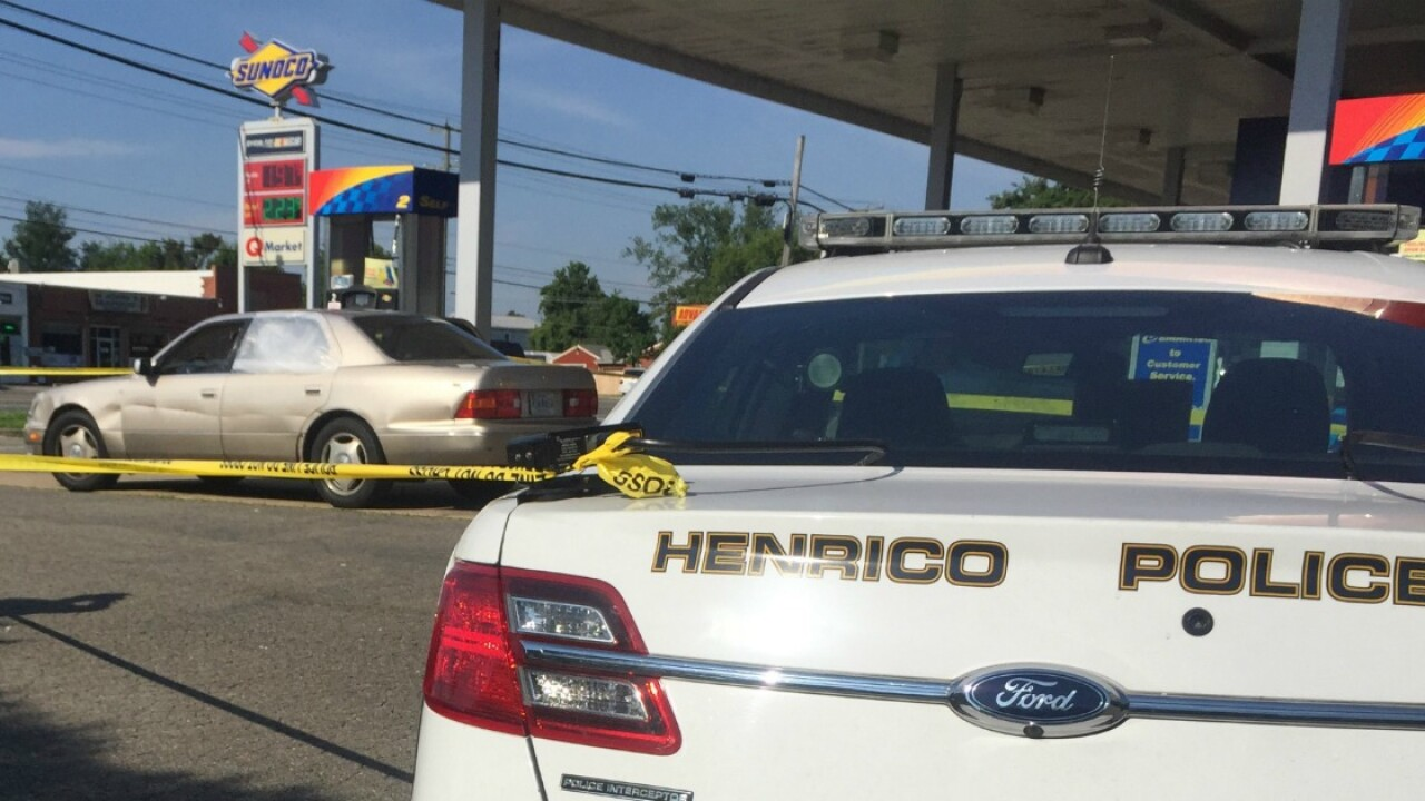 Police find woman shot at Henrico gas station