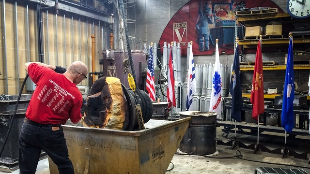 'Honor Bell' to honor vets being made in Cincy