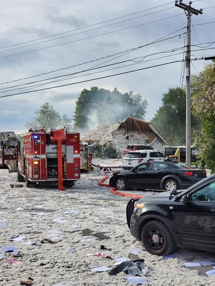 Photos: Firefighter dead, 6 colleagues injured in Maine building explosion