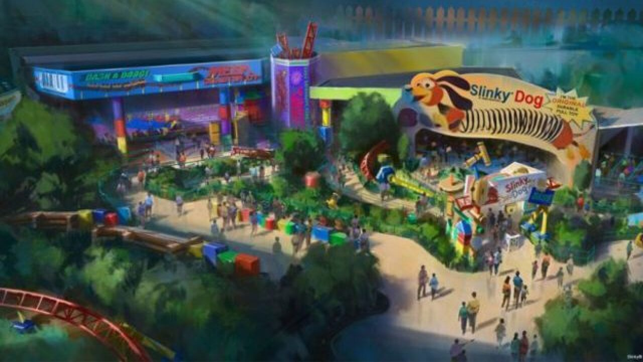 Disney opening 'Toy Story Land' this summer