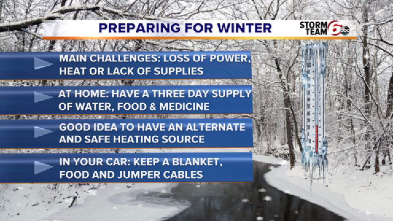 It's time to get your winter survival kit ready