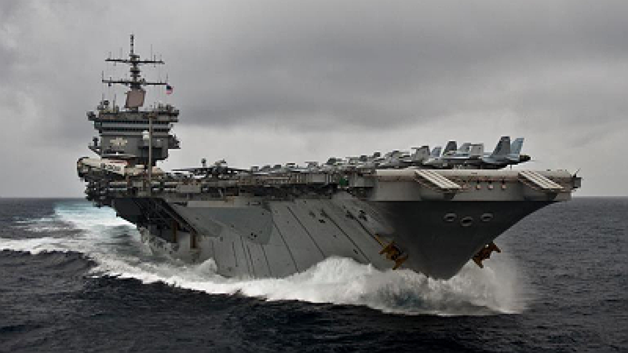 World's first nuclear powered aircraft carrier officially decommissioned
