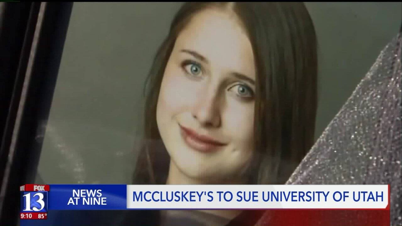 McCluskey family to file Title IX lawsuit; attorney says suit is designed to improve safety
