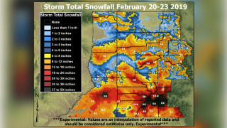 Heavy snows cause dramatic improvement to Colorado drought map