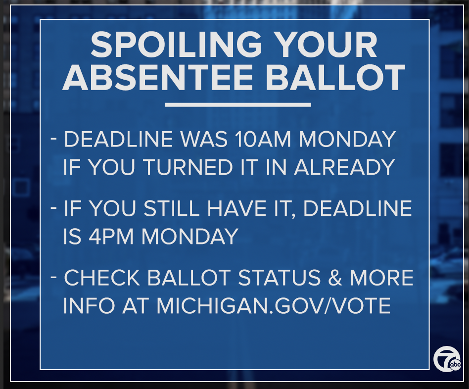 Important info if you want to spoil your absentee ballot