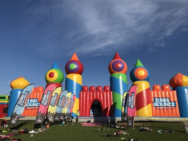 PHOTOS: The world's largest bounce house comes to Milwaukee